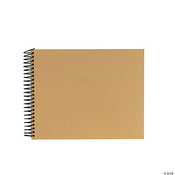 Spiral Chipboard Album - 8 x 10