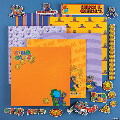 7 Sheet Chuck E. Cheese's® Paper Kit