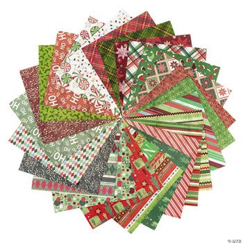 100 Sheet Christmas Paper Pack II