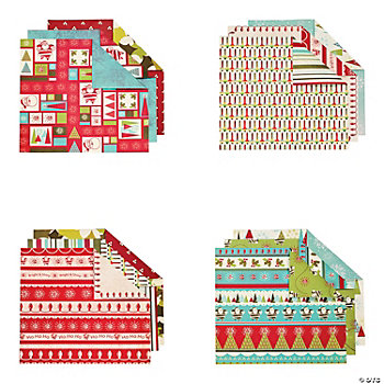98 Pc. Nostalgic Christmas Paper Kit