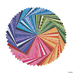 100 Sheet Rainbow Paper Pack