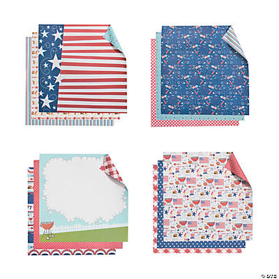 Red, White & BBQ Paper Kit