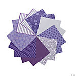 Purple Mono Paper Pack