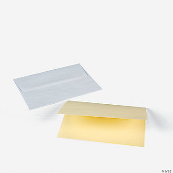 Pastel Yellow A7 Notecards & Envelopes