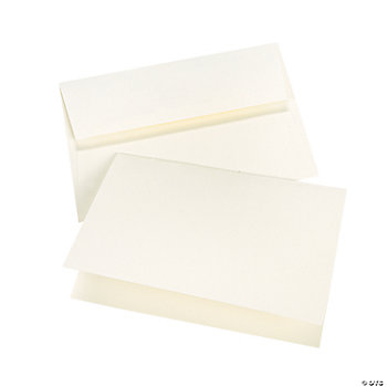 Cream A7 Notecards & Envelopes