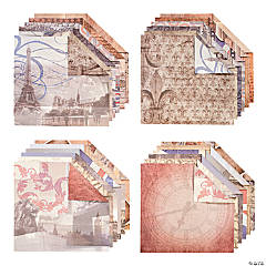 Europe Travel Paper Pad