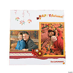 Fall & Halloween Scrapbook Collection