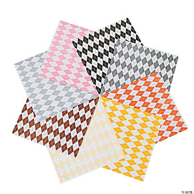 Awesome Argyle Paper - Neutrals