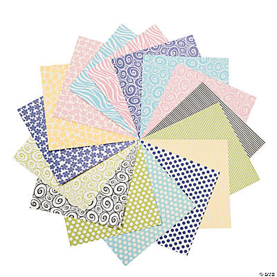 Patterned Pastel Paper Pack
