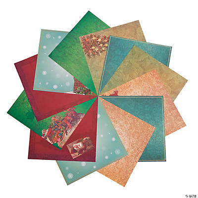 St. Nick Christmas Scrapbook Paper Pack