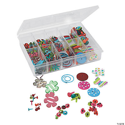 340 Pc. Spring Embellishment Box