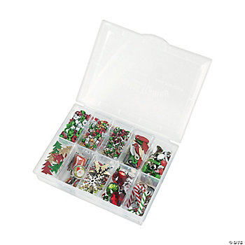 360 Pc. Christmas Embellishment Kit