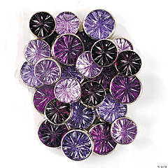 Monochromatic Jewel Brads - Purple
