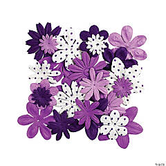 Monochromatic Purple Flowers