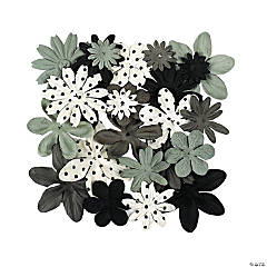 60 Monochromatic Black & White Flowers