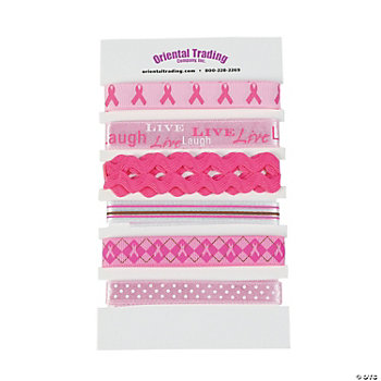 Breast Cancer Printed Ribbons