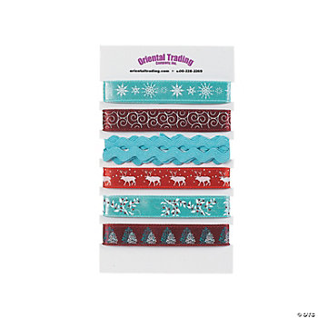 Snowy Splendor Printed Ribbon