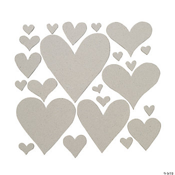 Chip Art Die-Cut Heart Shapes
