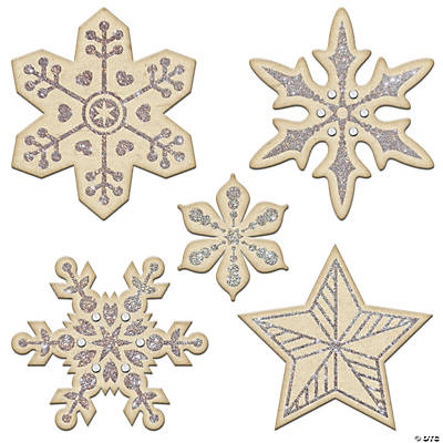 Glitter & Rhinestone Chipboard Stickers