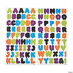 Goo Alphabet Sticker Set