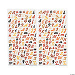 Fall & Halloween Alphabet Sticker Set