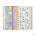 Pastel Border Stickers
