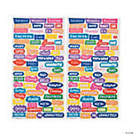Bright Word Stickers