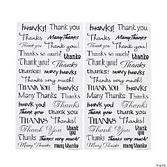 """Thank You"" Stickers"