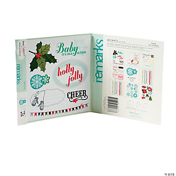 Remarks Mistletoe Sticker Book