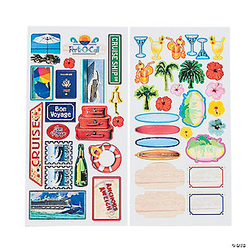 Cruise Stickers Oriental Trading Discontinued