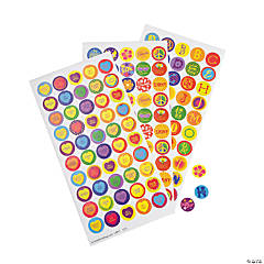 Child's Bottle Cap Stickers