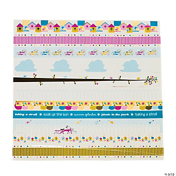 Summer Splendor Border Stickers