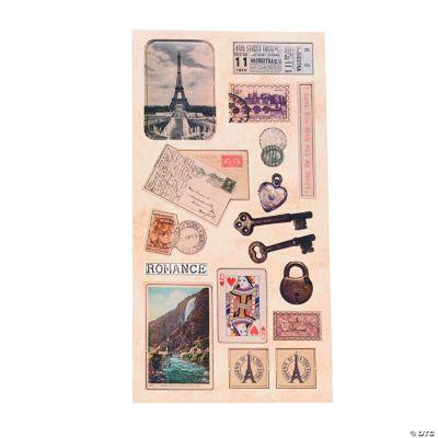 Vintage Postcard Stickers