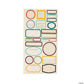 Basic Journal Stickers