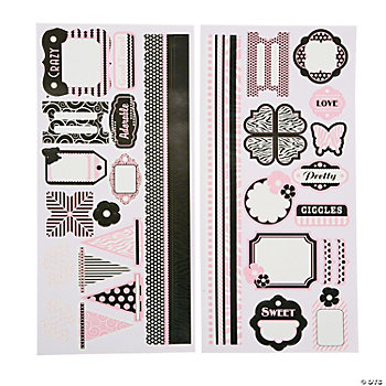 Pretty In Pink Sticker Set