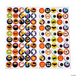 Halloween Bottlecap Stickers