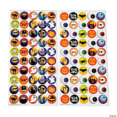 Halloween Bottlecap Stickers - 1