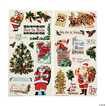 St. Nick Sticker Sheets