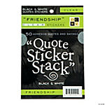 Die Cuts With A View™ Friendship Quotes Sticker Stack