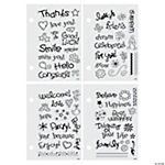 69 Basic Clear Stamps
