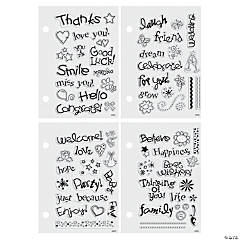 Basic Clear Stamps