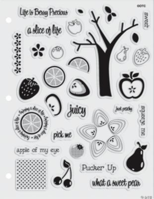 Fruit Salad Clear Stamps