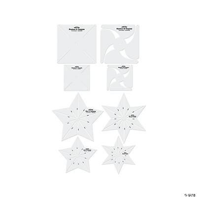 Pinwheel & Star Templates