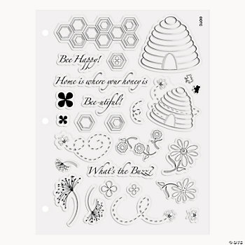 Honeycomb Home Stamp Set