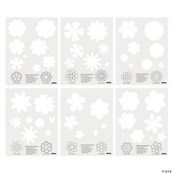 Layered Flower Templates Oriental Trading