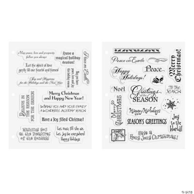Buy Both And Save! Christmas Card Stamps