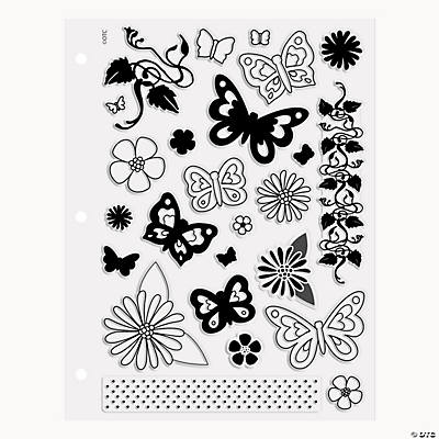 Butterfly Clear Stamps