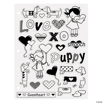 Puppy Love Clear Stamps