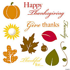 """Give Thanks"" Stamps"