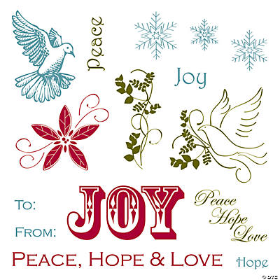 Peace & Joy Stamps